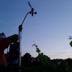 microclimate weather station vineyard