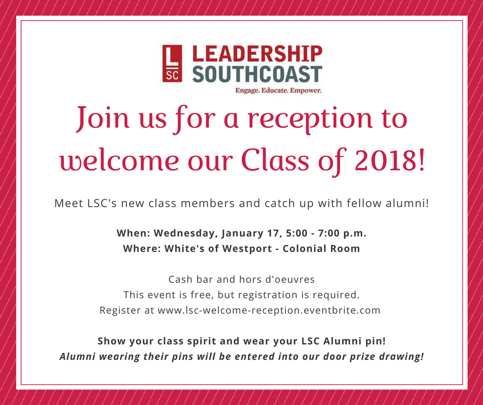 welcome reception 2018